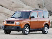 Honda Element, 1 поколение [рестайлинг], Кроссовер 5-дв., 2006–2008