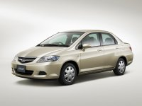 Honda Fit Aria, 1 поколение [рестайлинг], Седан, 2005–2008