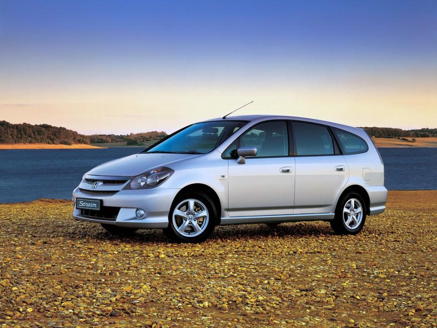 Honda Stream минивэн, 2004–2006, 1 поколение [рестайлинг] - отзывы, фото и характеристики на Car.ru