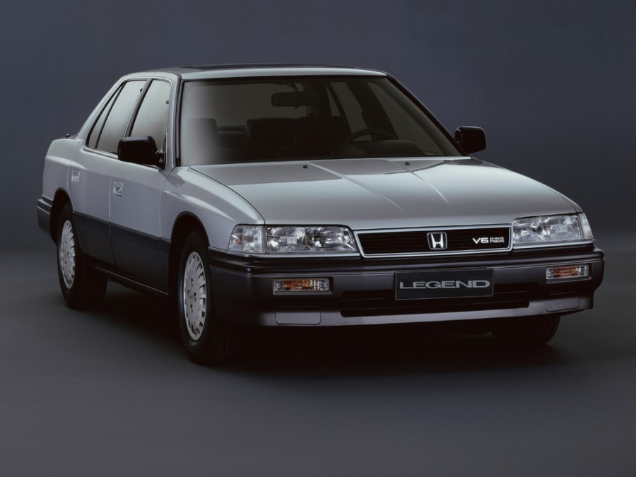 Honda Legend седан, 1987–1991, 1 поколение - отзывы, фото и характеристики на Car.ru