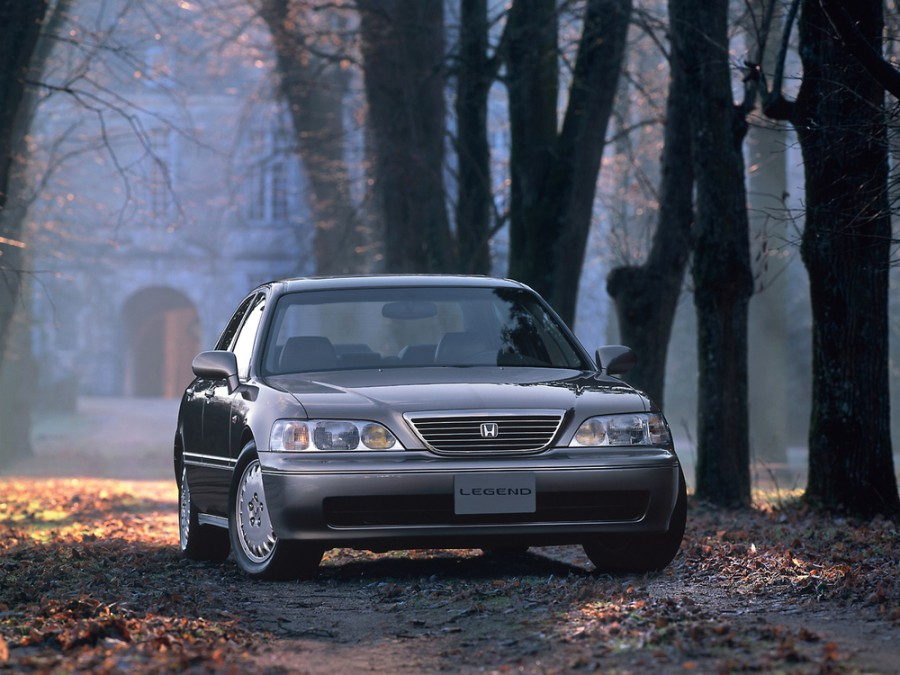 Honda Legend седан, 1996–2004, 3 поколение - отзывы, фото и характеристики на Car.ru