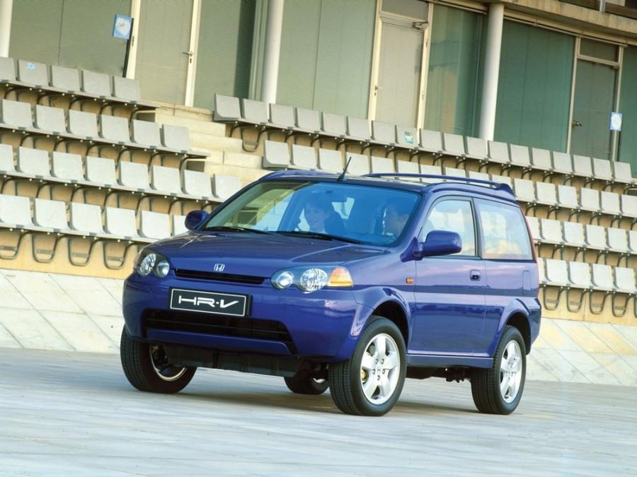 Honda HR-V кроссовер 3-дв., 1998–2001, 1 поколение - отзывы, фото и характеристики на Car.ru