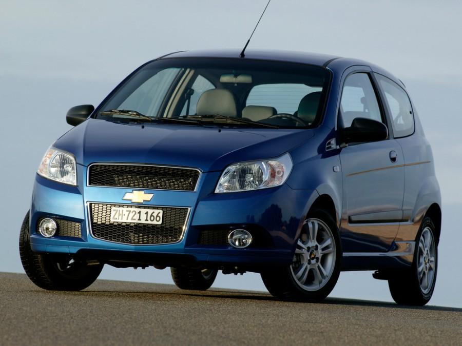 Chevrolet Aveo хетчбэк 3-дв., 2006–2011, T250 [рестайлинг] - отзывы, фото и характеристики на Car.ru