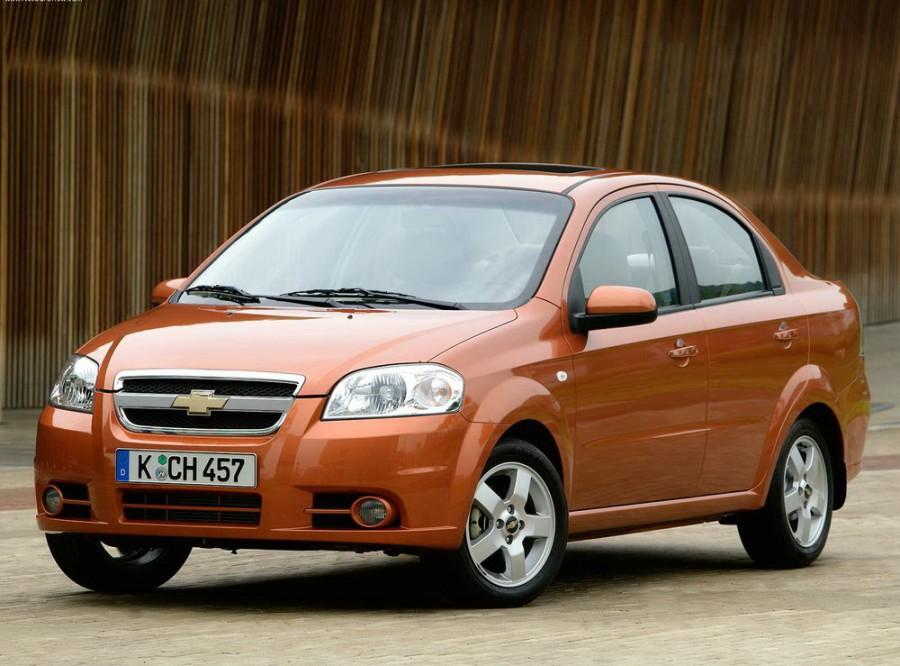 Chevrolet Aveo седан, 2006–2011, T250 [рестайлинг] - отзывы, фото и характеристики на Car.ru