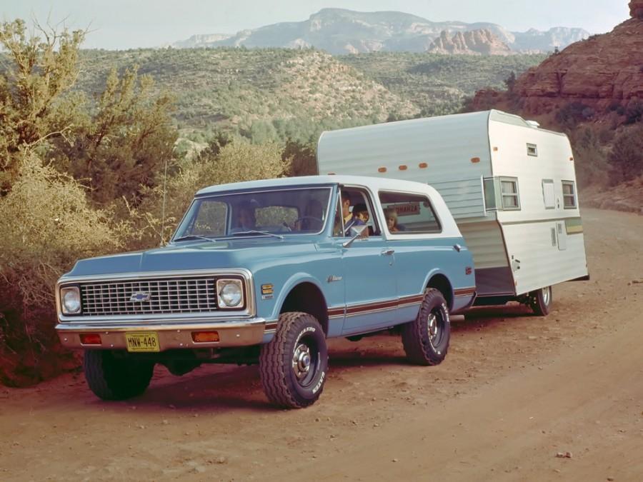 Chevrolet Blazer внедорожник, 2 поколение - отзывы, фото и характеристики на Car.ru