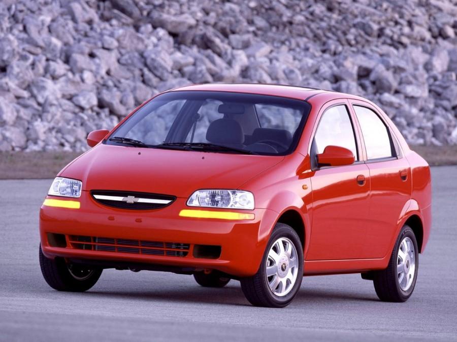 Chevrolet Aveo седан, 2003–2008, T200 - отзывы, фото и характеристики на Car.ru