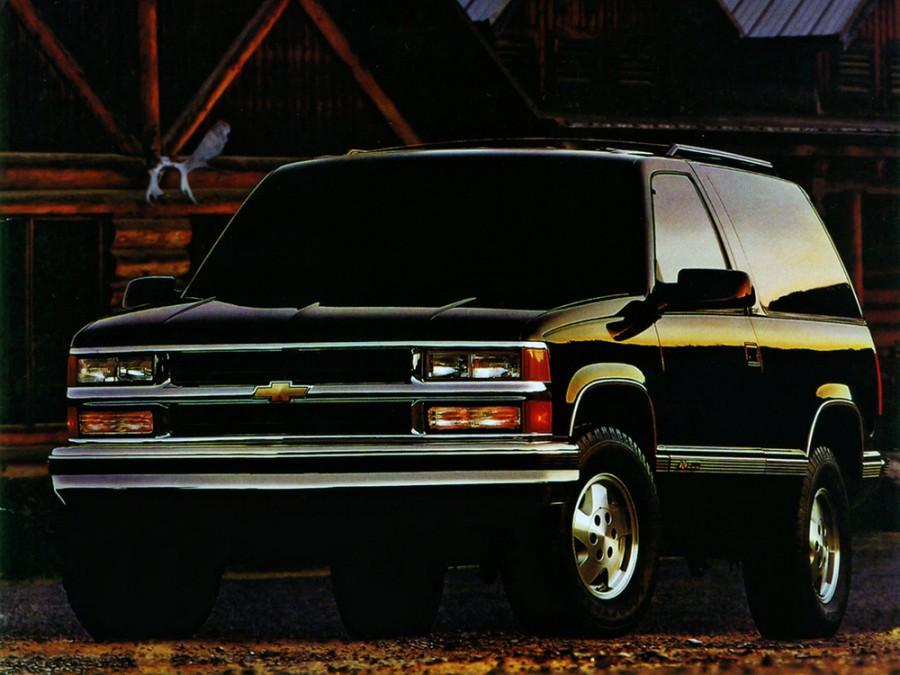 Chevrolet Blazer K1500 внедорожник, GMT400 [4-й рестайлинг] - отзывы, фото и характеристики на Car.ru