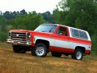 Chevrolet Blazer, 2 поколение [2-й рестайлинг], Внедорожник