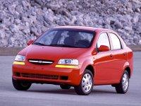 Chevrolet Aveo, T200, Седан, 2003–2008