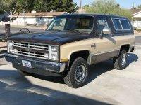 Chevrolet Blazer, 3 поколение [2-й рестайлинг], K5 внедорожник 3-дв.