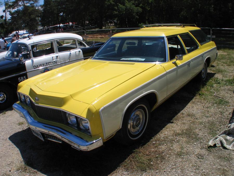 Chevrolet Caprice Kingswood Estate универсал, 1973, 2 поколение [2-й рестайлинг] - отзывы, фото и характеристики на Car.ru