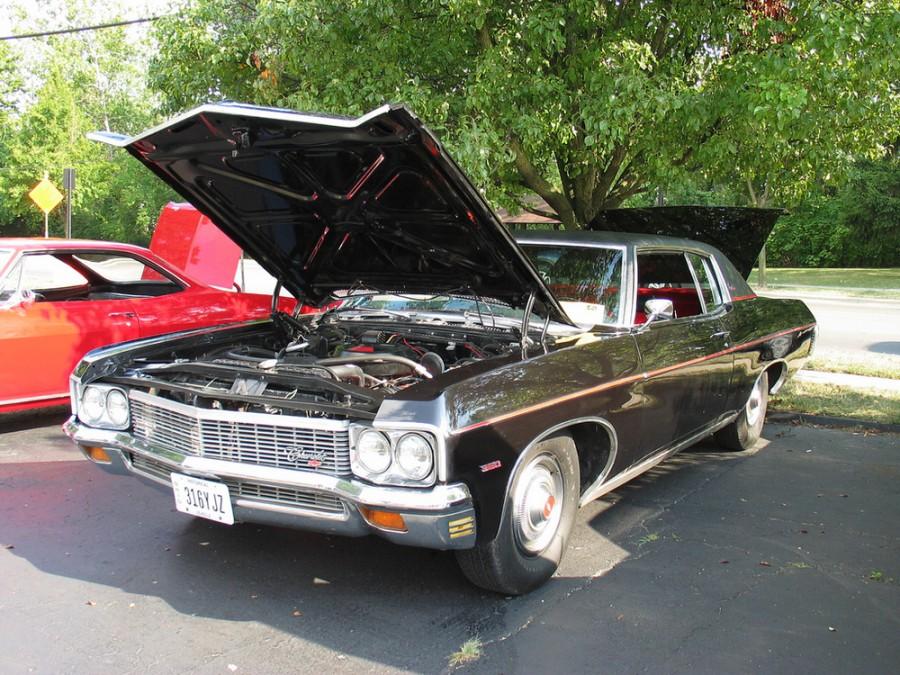 Chevrolet Caprice Custom Coupe хардтоп 2-дв., 1970, 1 поколение [5-й рестайлинг] - отзывы, фото и характеристики на Car.ru