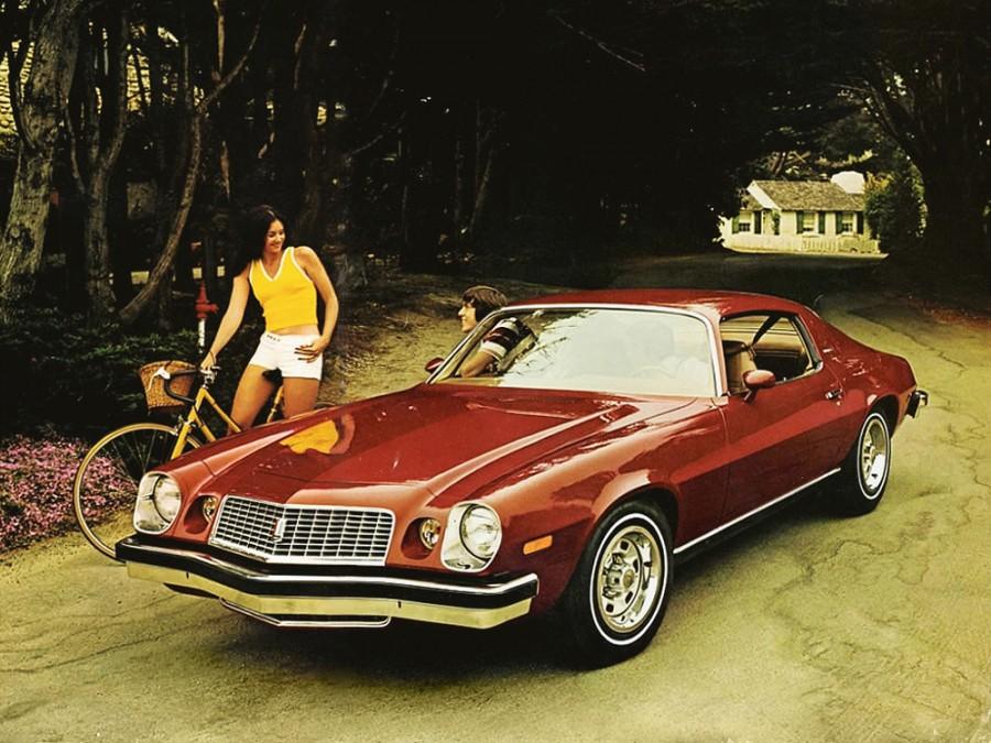 Chevrolet Camaro купе 2-дв., 1974–1977, 2 поколение [рестайлинг] - отзывы, фото и характеристики на Car.ru