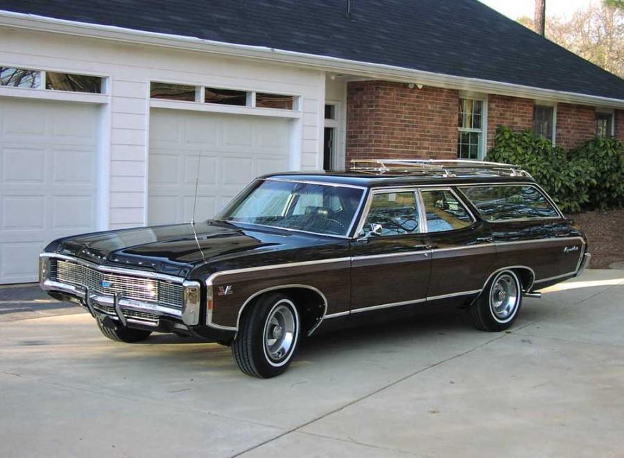 Chevrolet Caprice Kingswood Estate универсал, 1969–1970, 1 поколение [4-й рестайлинг] - отзывы, фото и характеристики на Car.ru
