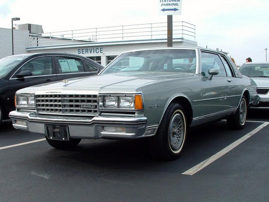 Chevrolet Caprice купе, 1980–1985, 3 поколение [рестайлинг] - отзывы, фото и характеристики на Car.ru