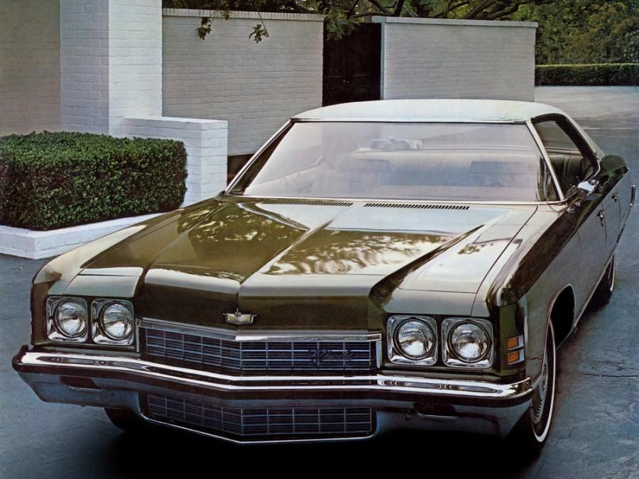 Chevrolet Caprice Sport Sedan хардтоп 4-дв., 1972, 2 поколение [рестайлинг] - отзывы, фото и характеристики на Car.ru