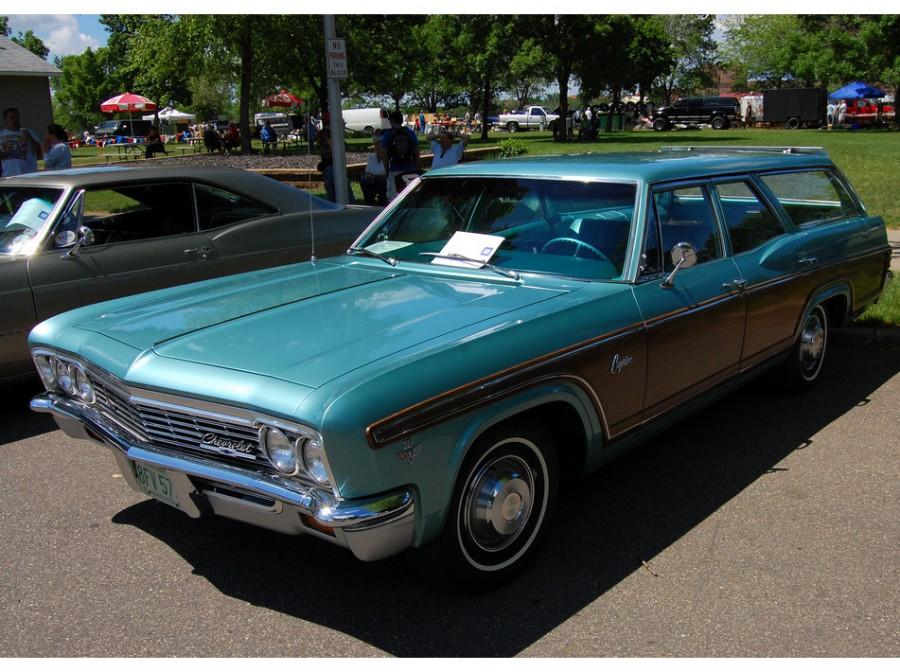 Chevrolet Caprice Kingswood Estate универсал, 1966, 1 поколение [рестайлинг] - отзывы, фото и характеристики на Car.ru