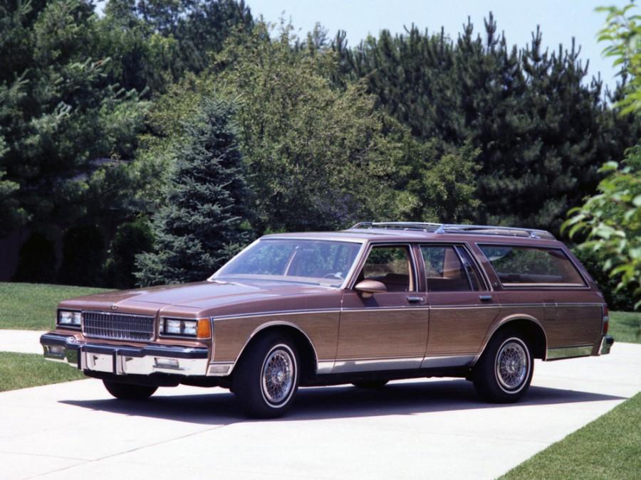 Chevrolet Caprice универсал, 1986–1990, 3 поколение [2-й рестайлинг] - отзывы, фото и характеристики на Car.ru