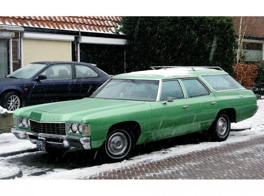 Chevrolet Caprice Kingswood Estate универсал, 1971, 2 поколение - отзывы, фото и характеристики на Car.ru
