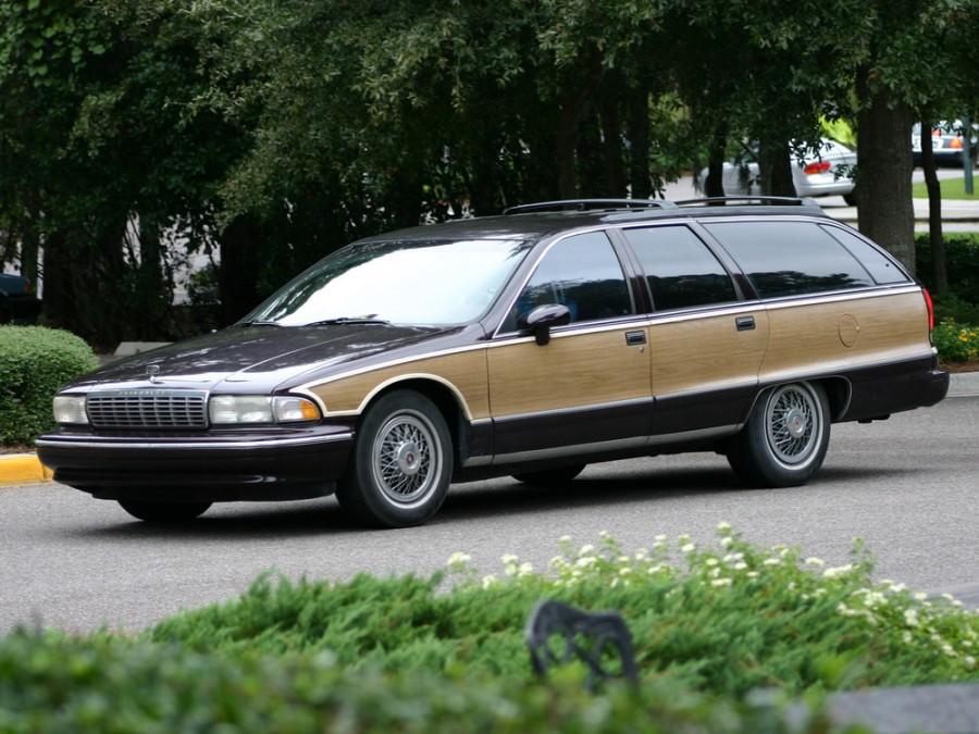 Chevrolet Caprice универсал, 1991–1996, 4 поколение - отзывы, фото и характеристики на Car.ru