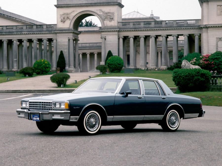 Chevrolet Caprice седан, 1980–1985, 3 поколение [рестайлинг] - отзывы, фото и характеристики на Car.ru