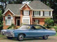 Chevrolet Caprice, 1 поколение [3-й рестайлинг], Sport sedan хардтоп 4-дв., 1968