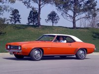 Chevrolet Camaro, 1 поколение [2-й рестайлинг], Купе 2-дв., 1969