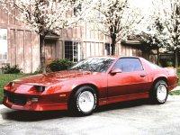 Chevrolet Camaro, 3 поколение [2-й рестайлинг], Купе 2-дв., 1991–1992