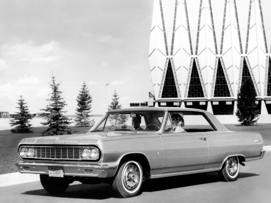 Chevrolet Chevelle Sport Coupe купе, 1964, 1 поколение - отзывы, фото и характеристики на Car.ru