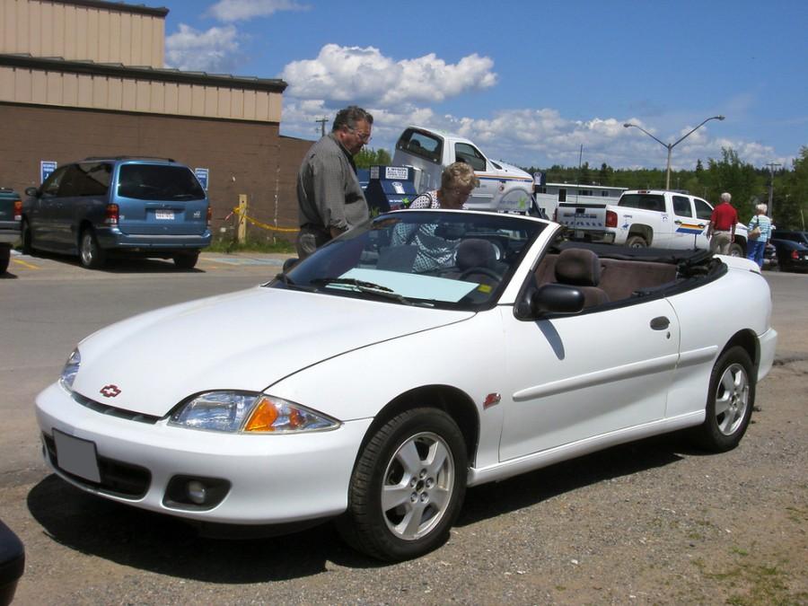 Chevrolet Cavalier кабриолет, 1999–2002, 3 поколение [рестайлинг] - отзывы, фото и характеристики на Car.ru