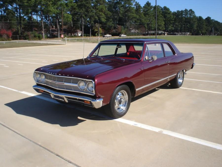 Chevrolet Chevelle седан 2-дв., 1965, 1 поколение [рестайлинг] - отзывы, фото и характеристики на Car.ru