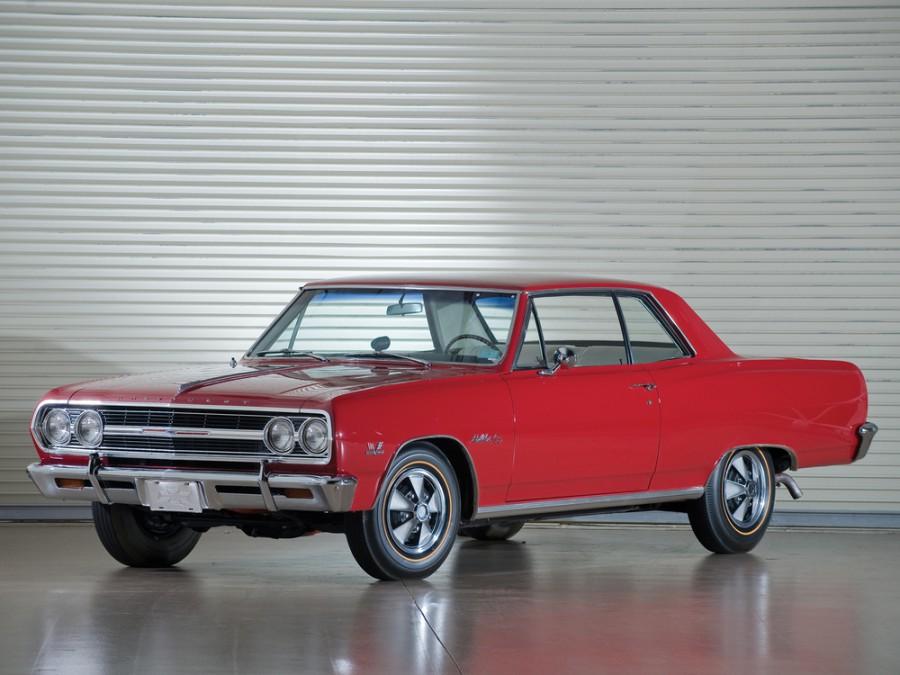 Chevrolet Chevelle Sport Coupe купе, 1965, 1 поколение [рестайлинг] - отзывы, фото и характеристики на Car.ru