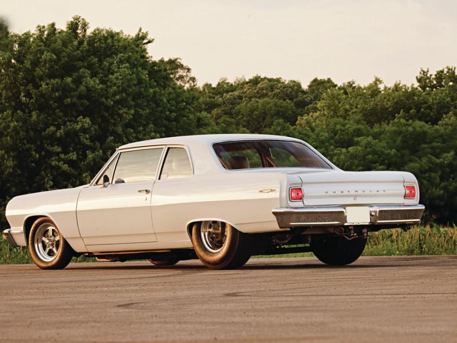 Chevrolet Chevelle седан 2-дв., 1964, 1 поколение - отзывы, фото и характеристики на Car.ru