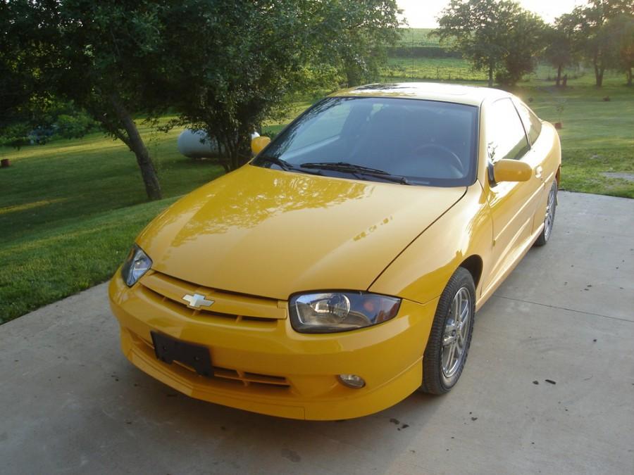 Chevrolet Cavalier купе, 2002–2005, 3 поколение [2-й рестайлинг] - отзывы, фото и характеристики на Car.ru