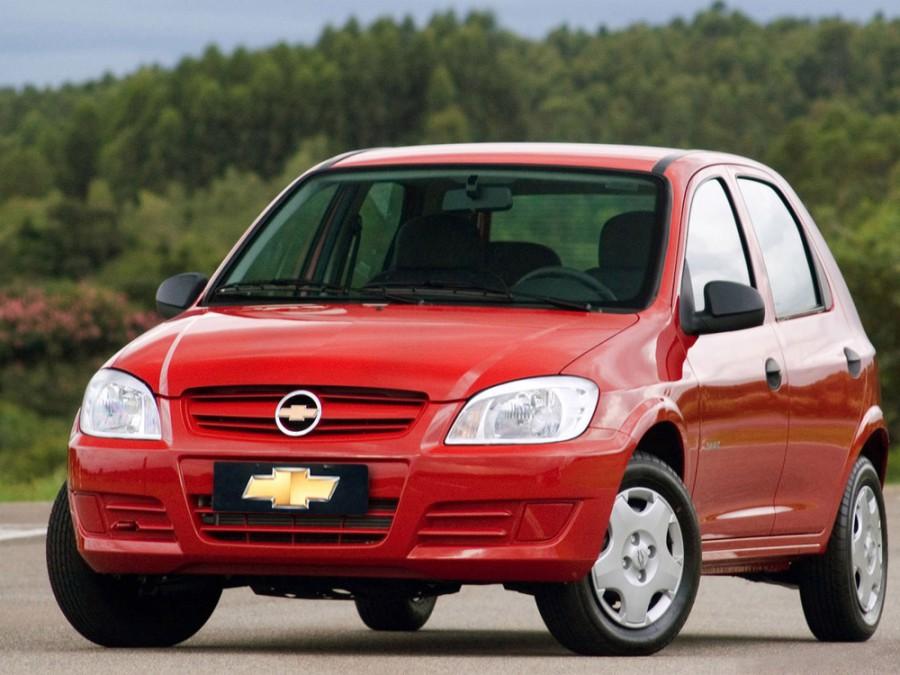 Chevrolet Celta хетчбэк 5-дв., 2006–2011, 1 поколение [рестайлинг] - отзывы, фото и характеристики на Car.ru