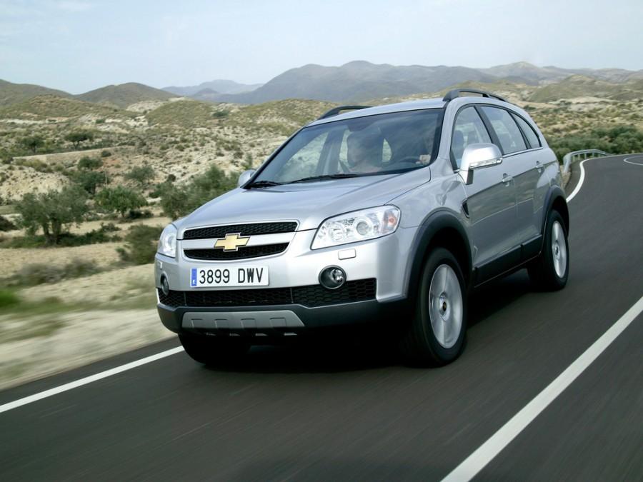 Chevrolet Captiva кроссовер, 2006–2011, 1 поколение - отзывы, фото и характеристики на Car.ru