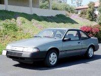 Chevrolet Cavalier, 2 поколение [рестайлинг], Купе, 1990–1994