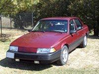 Chevrolet Cavalier, 2 поколение [рестайлинг], Седан, 1990–1994