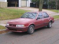 Chevrolet Cavalier, 2 поколение, Седан, 1987–1990