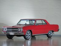 Chevrolet Chevelle, 1965, 1 поколение [рестайлинг], Sport coupe купе