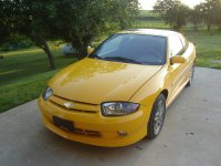 Chevrolet Cavalier, 3 поколение [2-й рестайлинг], Купе, 2002–2005