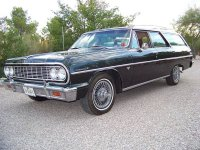 Chevrolet Chevelle, 1964, 1 поколение, Station wagon универсал 5-дв.
