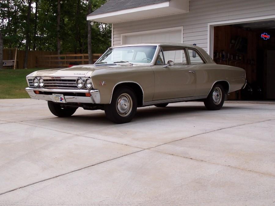 Chevrolet Chevelle седан 2-дв., 1967, 1 поколение [3-й рестайлинг] - отзывы, фото и характеристики на Car.ru