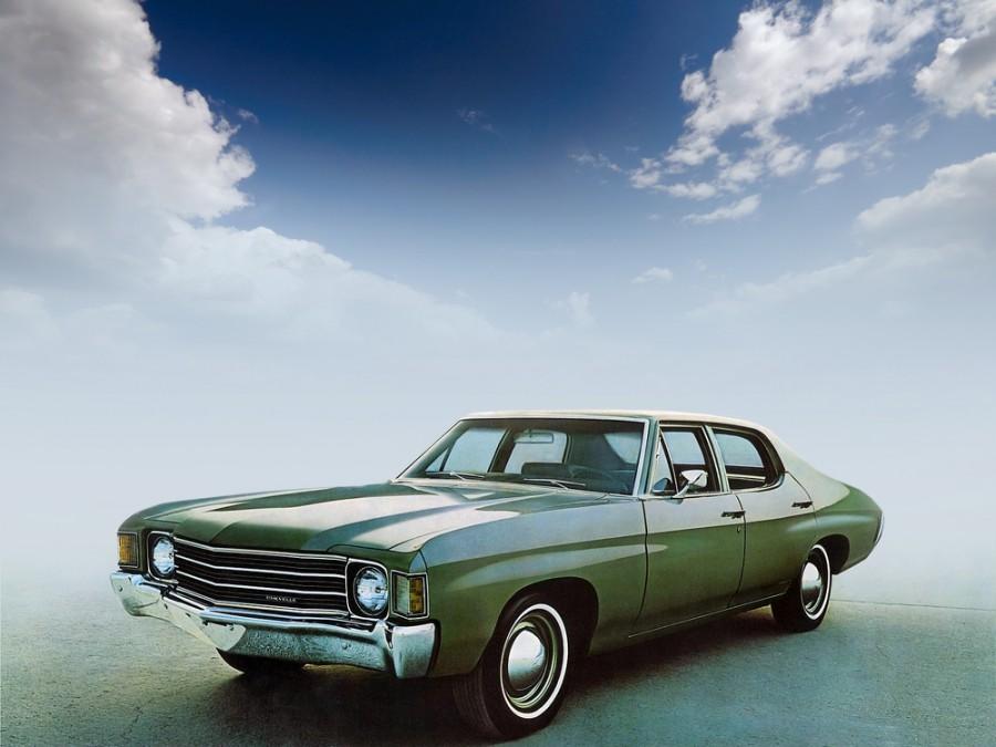 Chevrolet Chevelle седан, 1972, 2 поколение [4-й рестайлинг] - отзывы, фото и характеристики на Car.ru