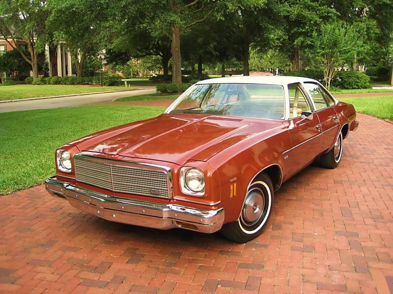 Chevrolet Chevelle седан, 1974, 3 поколение [рестайлинг] - отзывы, фото и характеристики на Car.ru