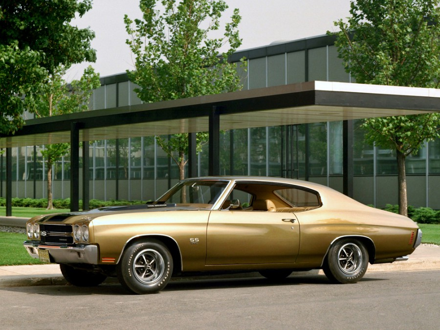Chevrolet Chevelle Sport Coupe купе, 1970, 2 поколение [2-й рестайлинг] - отзывы, фото и характеристики на Car.ru