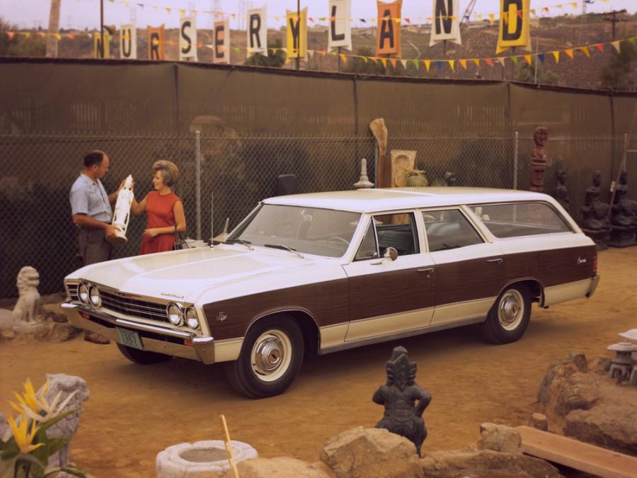 Chevrolet Chevelle Concours универсал, 1967, 1 поколение [3-й рестайлинг] - отзывы, фото и характеристики на Car.ru