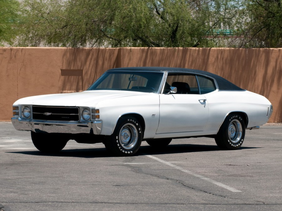 Chevrolet Chevelle Sport Coupe купе, 1971, 2 поколение [3-й рестайлинг] - отзывы, фото и характеристики на Car.ru