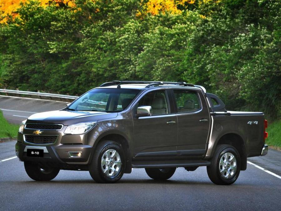 Chevrolet Colorado пикап, 2 поколение - отзывы, фото и характеристики на Car.ru