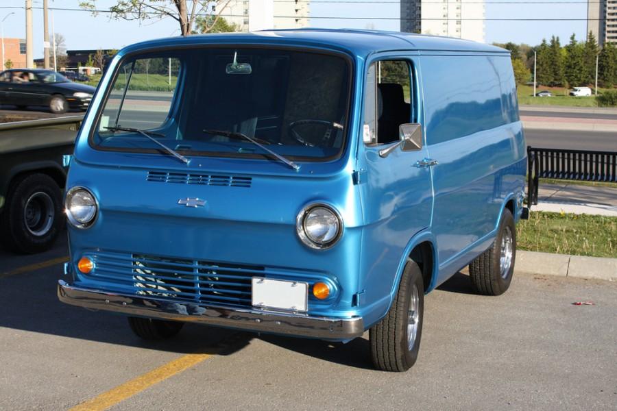 Chevrolet Chevy Van фургон, 1964–1966, 1 поколение - отзывы, фото и характеристики на Car.ru
